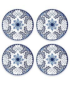 Cobalt Casita Dinner Plate, Set of 4