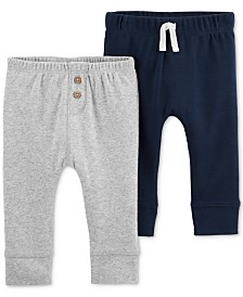 Carter's Baby Boys 2-Pack Cotton Pants