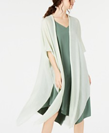 Eileen Fisher Organic Cotton/Silk Duster Cardigan