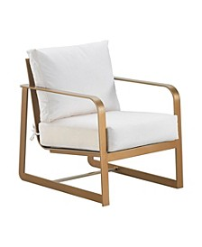 Mirabelle Outdoor Arm Chair, Quick Ship