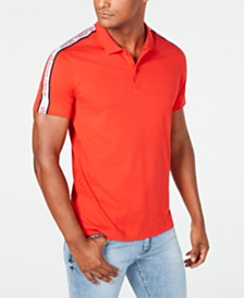 A|X Armani Exchange Men's Logo Tape Polo