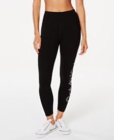 Calvin Klein Performance Logo High-Rise Leggings