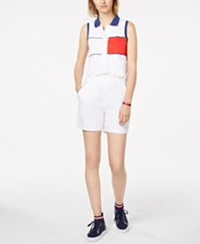 Tommy Hilfiger Sleeveless Polo Romper