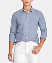 2303a25998ad Polo Ralph Lauren Mens Casual Button Down Shirts & Sports Shirts ...