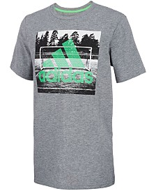 adidas Little Boys Field Court Logo T-Shirt