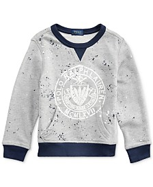 Polo Ralph Lauren Toddler Boys Twill Terry Graphic Sweatshirt