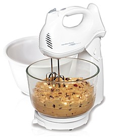 Power Deluxe 6-Speed Hand-Stand Mixer