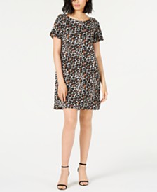 Marella Animal-Print Shift Dress