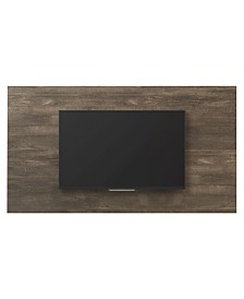 """Mid-Century Wood Entertainment Center for TVs up to 70"""""""
