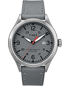 Timex Waterbury Traditional 40mm Leather Strap Watch