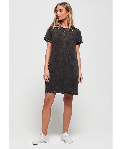 Superdry Tonal Sweat Dress & Reviews Dresses Juniors