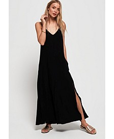Carissa Macrame Maxi Dress