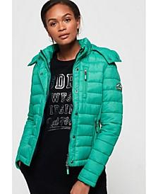 Fuji Slim Double Zip Hooded Jacket