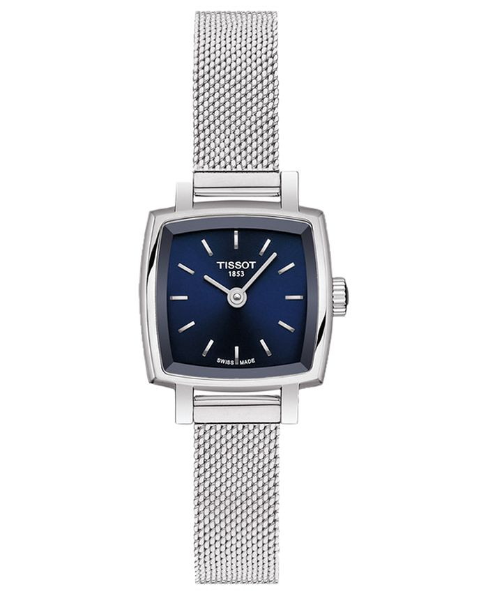 Tissot - Women's Swiss T-Lady Lovely Stainless Steel Mesh Bracelet Watch 20mm