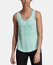 adidas ID Cotton Striped Tank Top