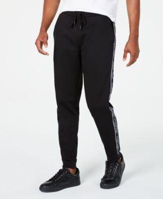 Men's Side-Striped Joggers