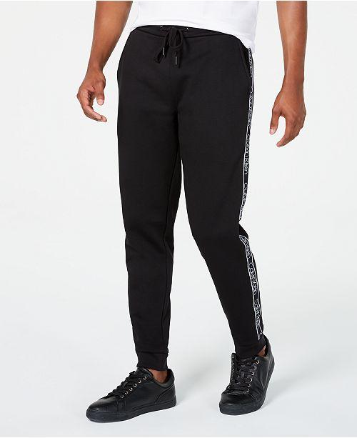 Calvin Klein Men's Side-Striped Joggers