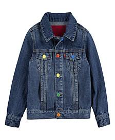 x Crayola Rainbow Trucker Jacket