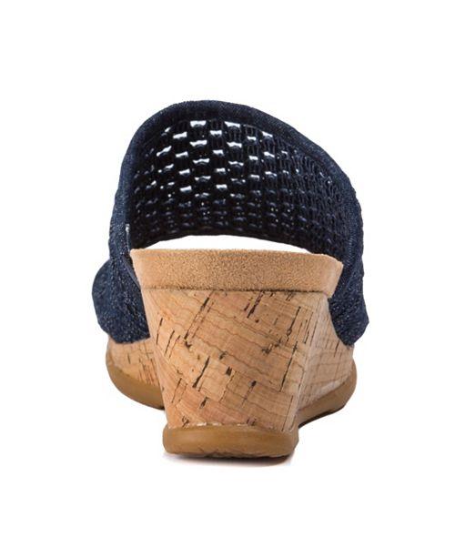 55c5c30e573 Baretraps Flossey Slip-On Wedge Sandals   Reviews - Sandals   Flip ...