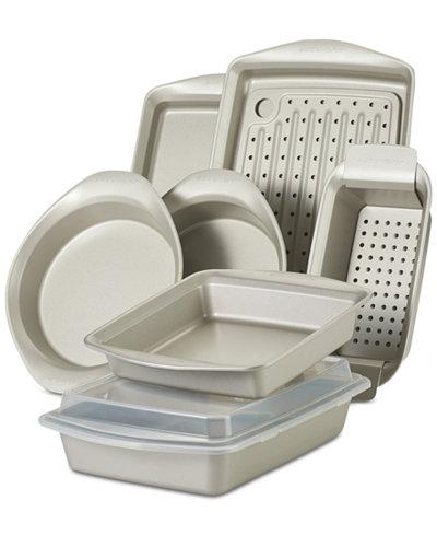 Rachael Ray Nonstick 10-Pc. Bakeware Set