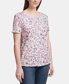 Sequin Short-Sleeve T-Shirt