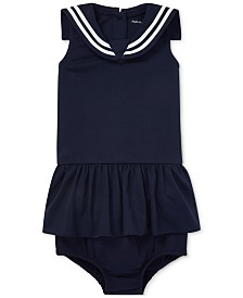 Polo Ralph Lauren Baby Girls Embroidered Dress