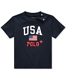 Polo Ralph Lauren Baby Boys Graphic Cotton T-Shirt