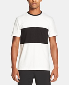 DKNY Men's Colorblocked Supima Cotton Pocket T-Shirt