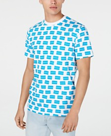 Calvin Klein Jeans Men's Scatter Box Logo T-Shirt