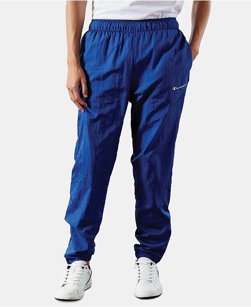 Champion Men's C-Life Nylon Warm-Up Pants