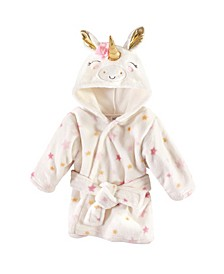 Plush Bathrobe, 0-9 Months