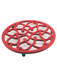 Apple Cast Iron Trivet