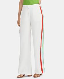 RACHEL Rachel Roy Tuxedo-Stripe Trousers