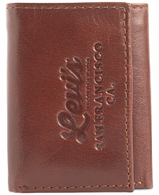 Levi's® Men's Tri-Fold RFID Zip-Pocket Wallet