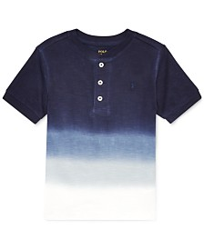 Polo Ralph Lauren Toddler Boys Ombré Cotton Henley T-Shirt