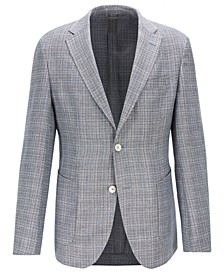 BOSS Men's Micro Pattern Jacket