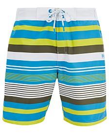 BOSS Men's Striped Swim Shorts