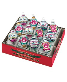 """Vintage Celebration 1.75"""" 12c Decorated Rounds and Shapes"""