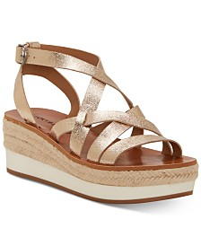 Lucky Brand Women's Jenepper Wedge Sandals
