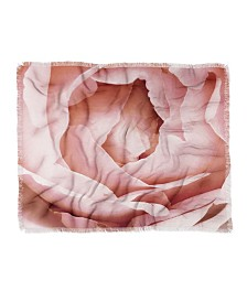 Happee Monkee Versailles Rose Woven Throw
