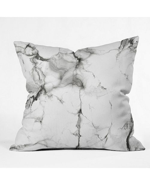 Deny Designs Chelsea Victoria Marble Throw Pillow