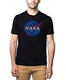 Mens Premium Blend Word Art T-Shirt - Nasa Meatball Logo