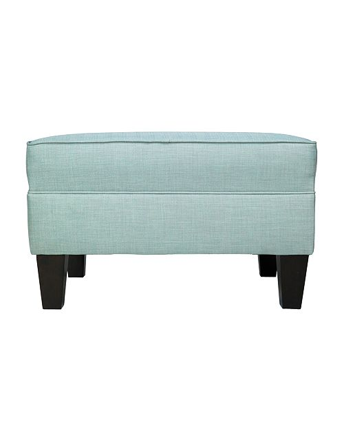Pleasant Brooklyn Square Upholstered Storage Ottoman Gmtry Best Dining Table And Chair Ideas Images Gmtryco