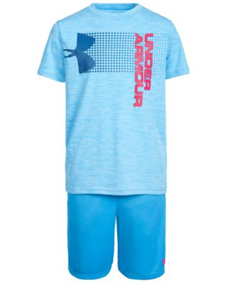 pink under armour shirt for boys