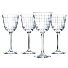 Cristal D' Arques Iroko Wine Glass - Set of 4