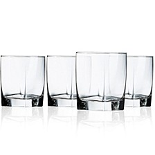 Sterling Double Old Fashioned Glass - Set of 4