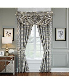 "Nadia 84"" Sqaure Curtain Panel Pair"