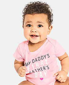 Carter's Baby Girls Father's Day Cotton Bodysuit