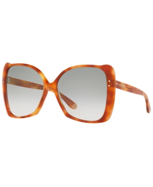 af8a080a209 Gucci 62Mm Oversize Butterfly Sunglasses - Lt Havana  Green Gradient In  Tortoise Light Green