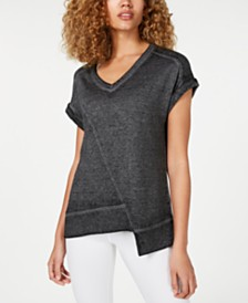 Calvin Klein Performance Asymmetrical T-Shirt
